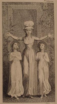 Frontispiece from Wollstonecraft