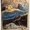 Title Page of William Blake's _America_