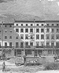 engraving of Pall Mall 121