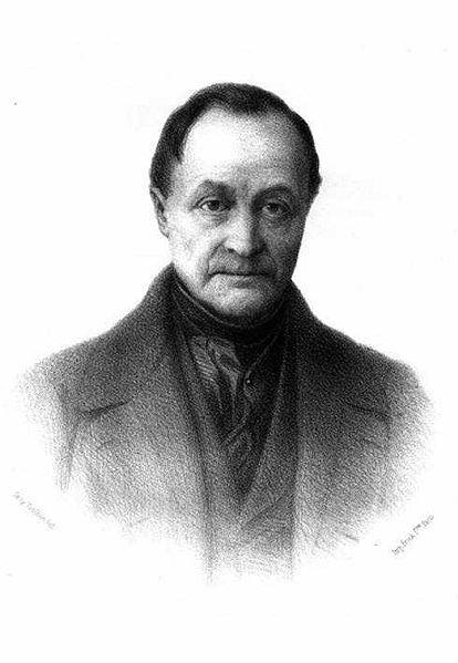 engraving of Comte
