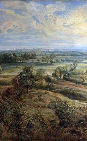 Detail from Rubens, Het Steen
