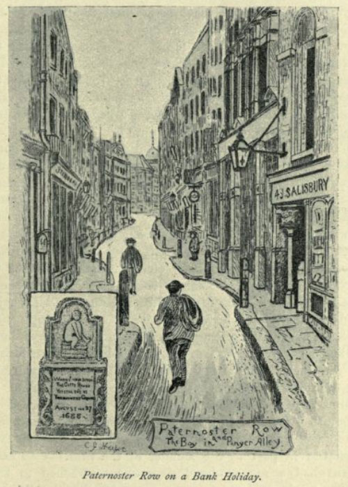illustration of a book collector